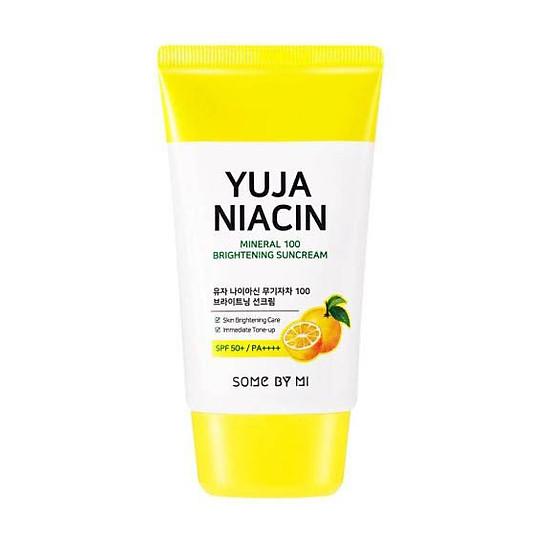 Kem chống nắng làm trắng da Some By Mi Yuja Niacin Mineral 100 Brightening Suncream