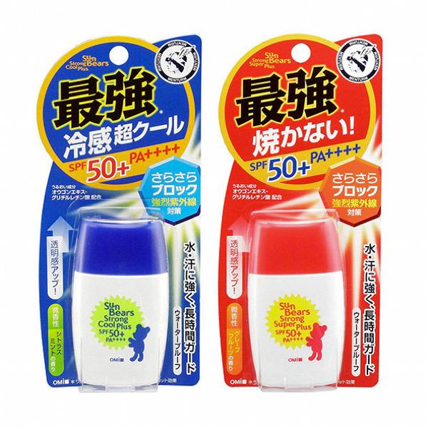 Kem chống nắng omi Sun Bear Plus SPF50+/PA++++