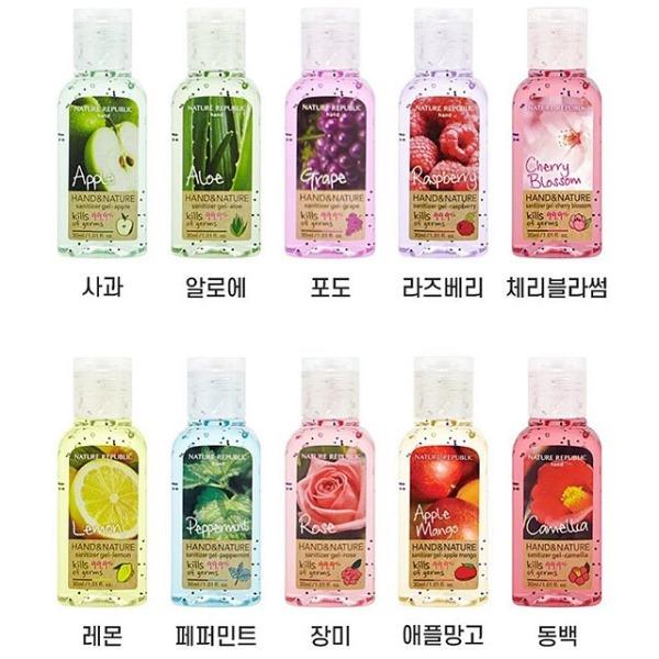 Gel rửa tay khô Nature Republic Hand & Nature Sanitizer - Gel rửa tay khô diệt khuẩn đến 99,9%