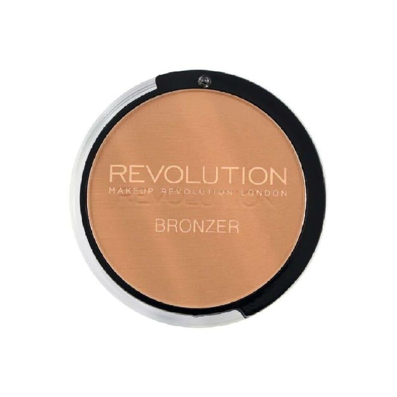 Phấn tạo khối và làm ấm gương mặt Makeup Revolution London Kiss Bronzer