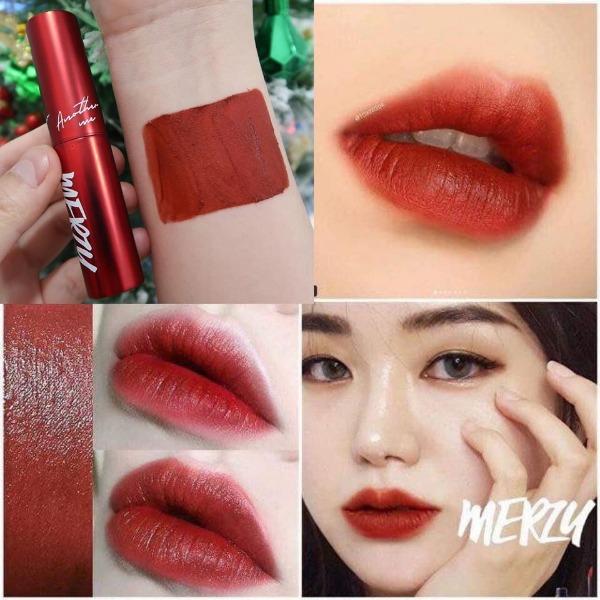 Son kem lì Merzy The First Velvet Tint Limited Edition #V6 (RED)