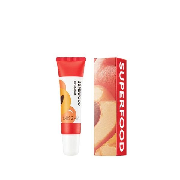 Tẩy tế bào chết môi Missha Superfood Apricot Lip Scrub