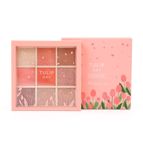 Bảng phấn mắt 9 màu Etude House Etude Play Color Eyes #Tulip Day