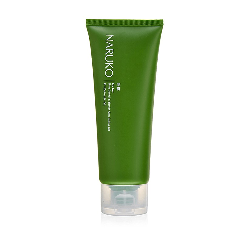 Gel tẩy tế bào chết tràm tà Naruko Tea Tree Shine Control And Blemish Clear Peeling Gel