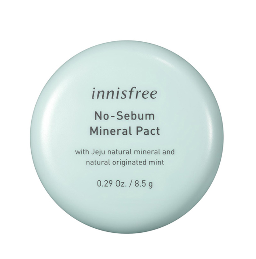 Phấn phủ nén kiềm dầu Innisfree No Sebum Mineral Pact 8.5g