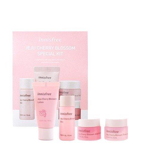 Trọn bộ dưỡng sáng da và cấp ẩm Innisfree Jeju Cherry Blossom Special Kit