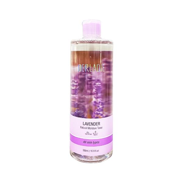 Nước Cân Bằng Da Kiềm Dầu Ngừa Mụn Derladie Lavender Natual Moisture Toner