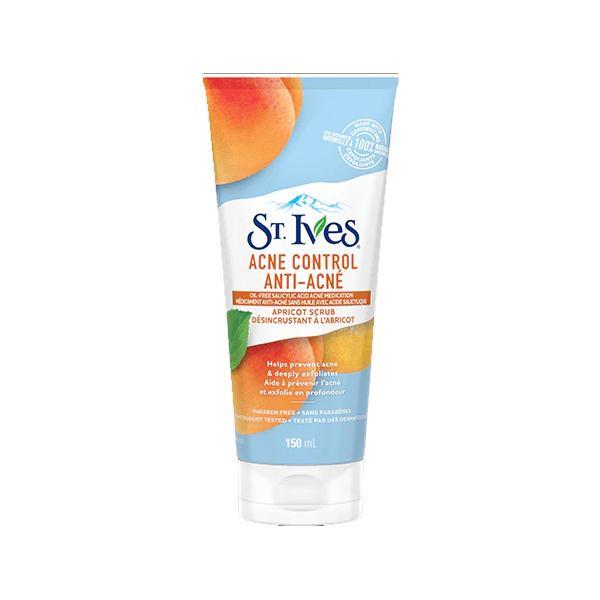 Tẩy tế bào chết dành cho da mụn St. Ives Acne Control Apricot Scrub