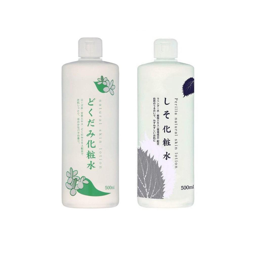 Nước Hoa Hồng Natural Skin Lotion 500ml