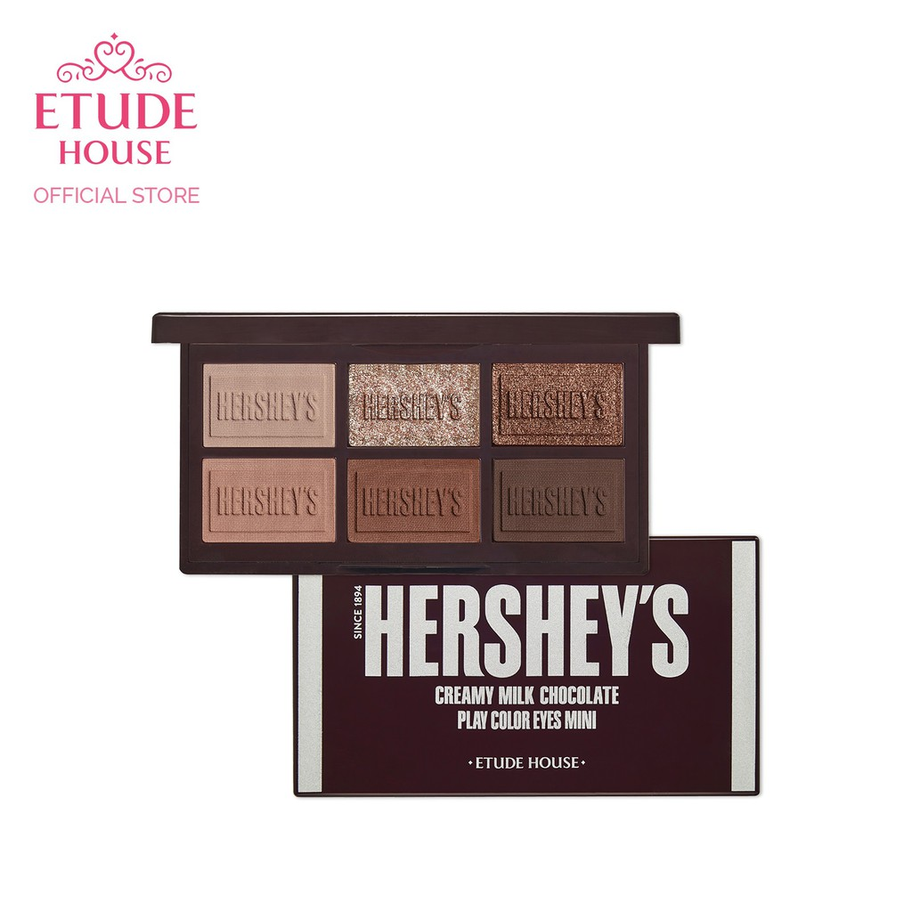 Bảng Phấn Mắt Phiên Bản Chocolate Etude House X Hershey's Drink Special Kit Limited Edition