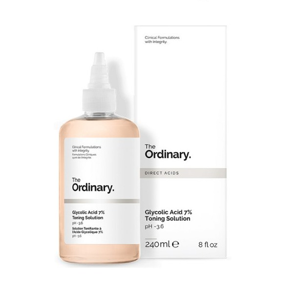 Toner Tẩy Da Chết Hóa Học The Ordinary Glycolic Acid 7% Toning Solution
