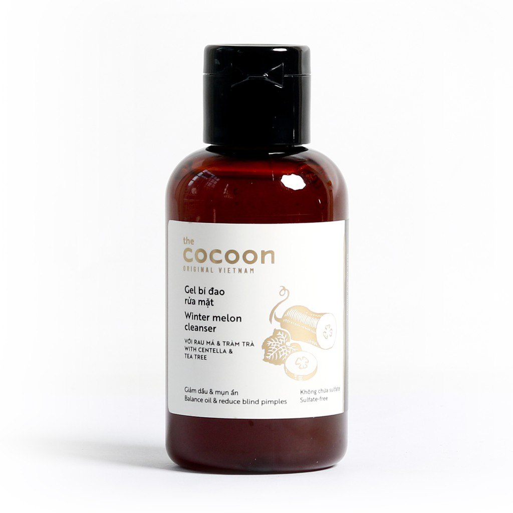 Gel Rửa Mặt Cocoon Winter Melon Cleanser Bí Đao 140ml