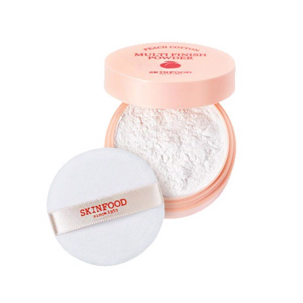Phấn Bột Kiềm Dầu Skinfood Peach Cotton Multi Finish Powder