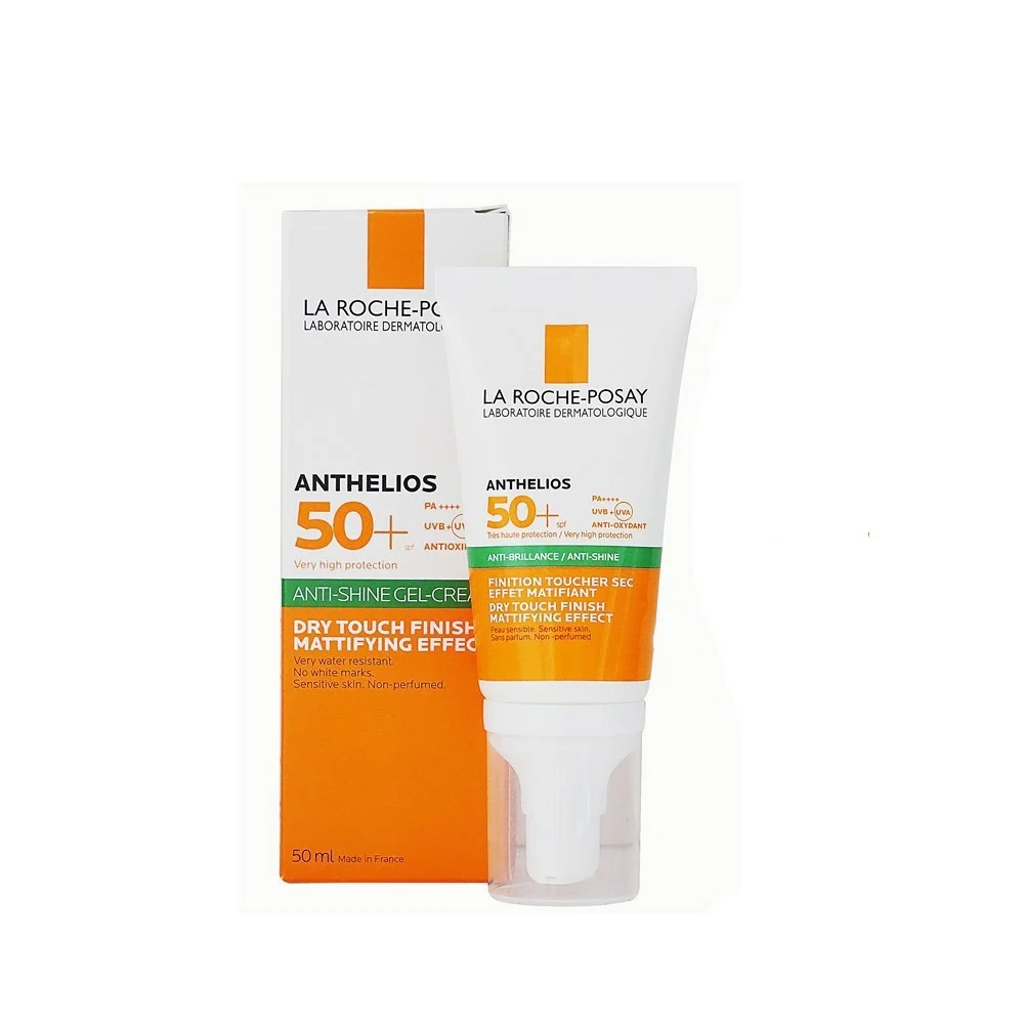 Kem Chống Nắng Không Màu Kiểm Soát Dầu La Roche-Posay Anthelios XL Dry Touch Gel-Cream SPF 50+ UVB & UVA 50ml