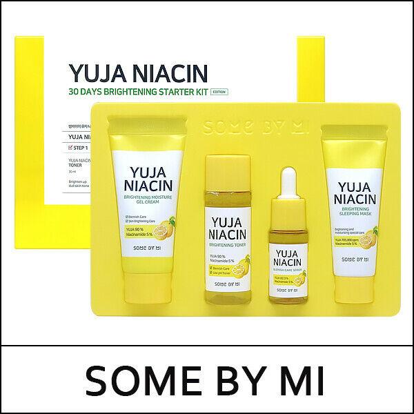[4 Items] Kit Dưỡng Trắng Da Chiết Xuất Quả Thanh Yên Some By Mi Yuja Niacin 30Days Brightening Starter Kit