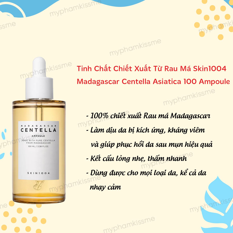Tinh Chất Rau Má Trị Mụn, Phục Hồi Da Skin1004 Madagascar Centella Ampoule