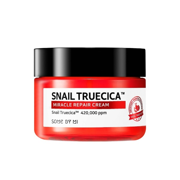 Kem Dưỡng Ẩm, Phục Hồi, Giúp Da Săn Chắc, Đàn Hồi Chiết Xuất Ốc Sên Some By Mi Snail Truecica Miracle Repair Cream