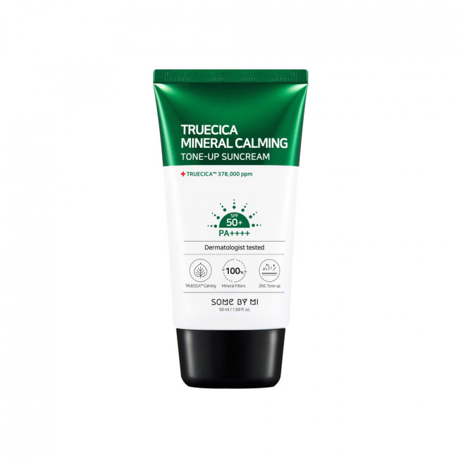Kem chống nắng Some By Mi Truecica Mineral 100 Calming Tone up Suncream