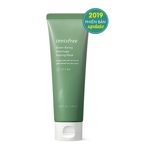 Mặt Nạ Tẩy Da Chết Innisfree Green Barley Gommage Peeling Mask 120ml