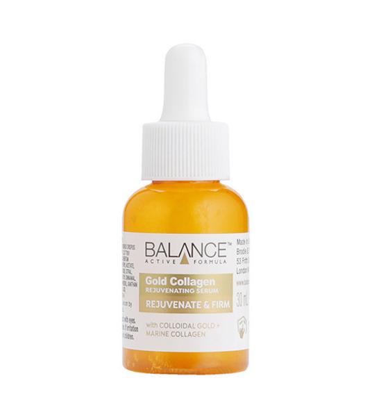 Tinh Chất Chống Lão Hóa Balance Active Formula Gold Collagen Rejuvenating Serum 30m
