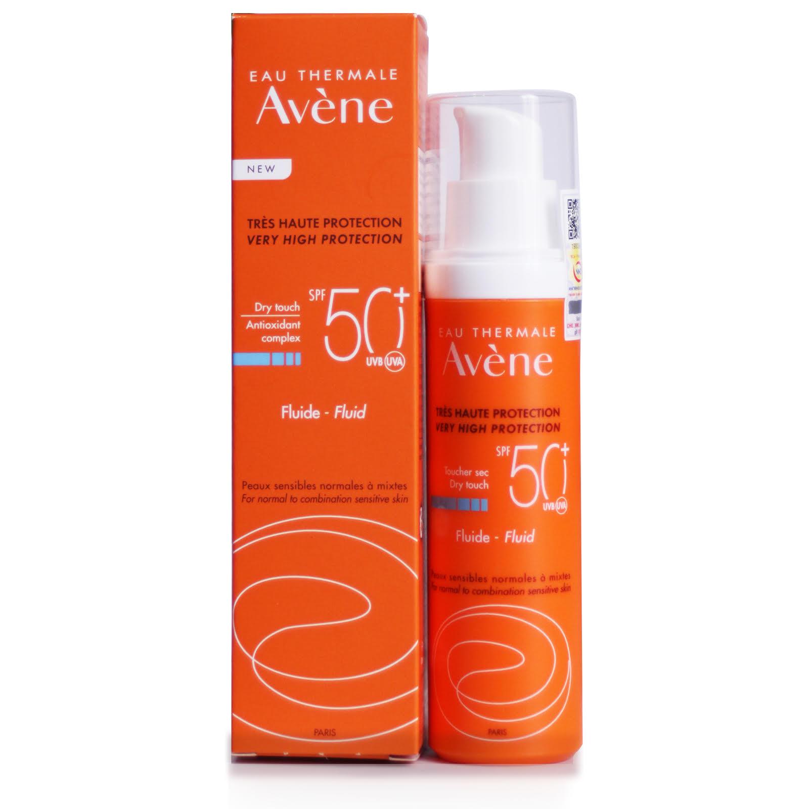 Kem Chống Nắng AVENE Very High Protection Fluid SPF 50+
