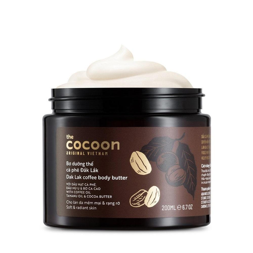 Bơ Dưỡng Thể Cocoon Chiết Xuất Cà Phê Đắk Lắk 200ml