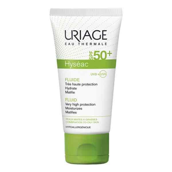 Kem chống nắng dành cho da dầu mụn Uriage Hyseac Fluide SPF 50+