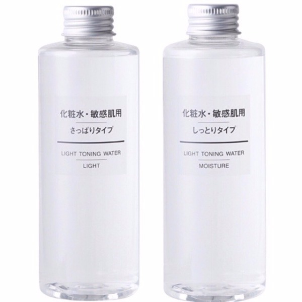 Muji Light Toning Toner 200ml