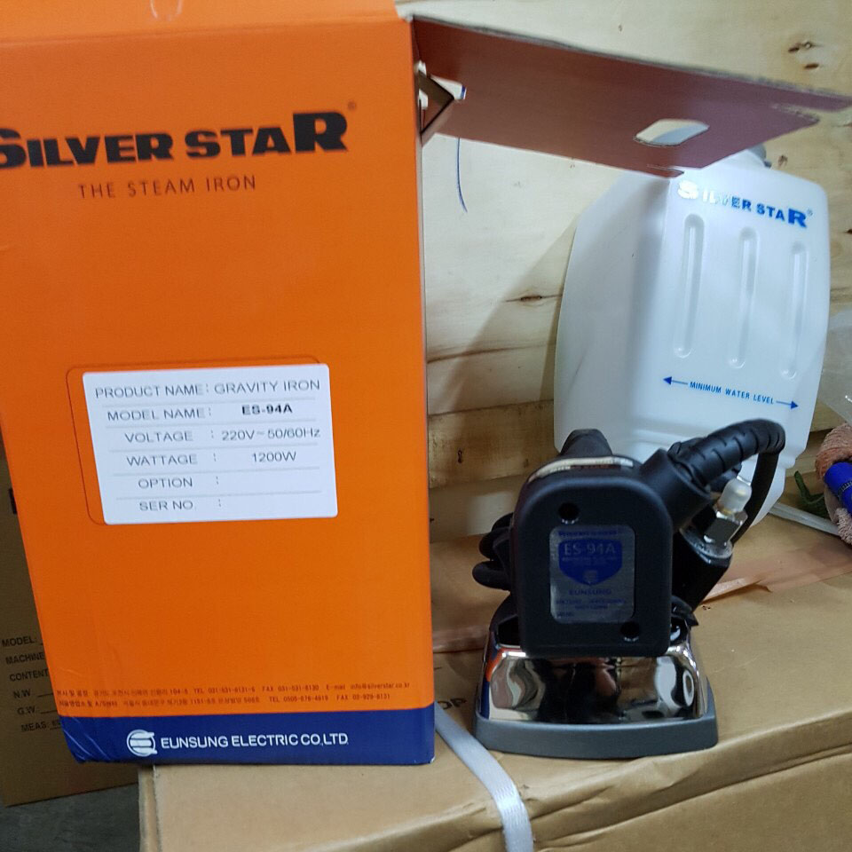 Bàn là Silverstar ES-94A (Vỏ cam)
