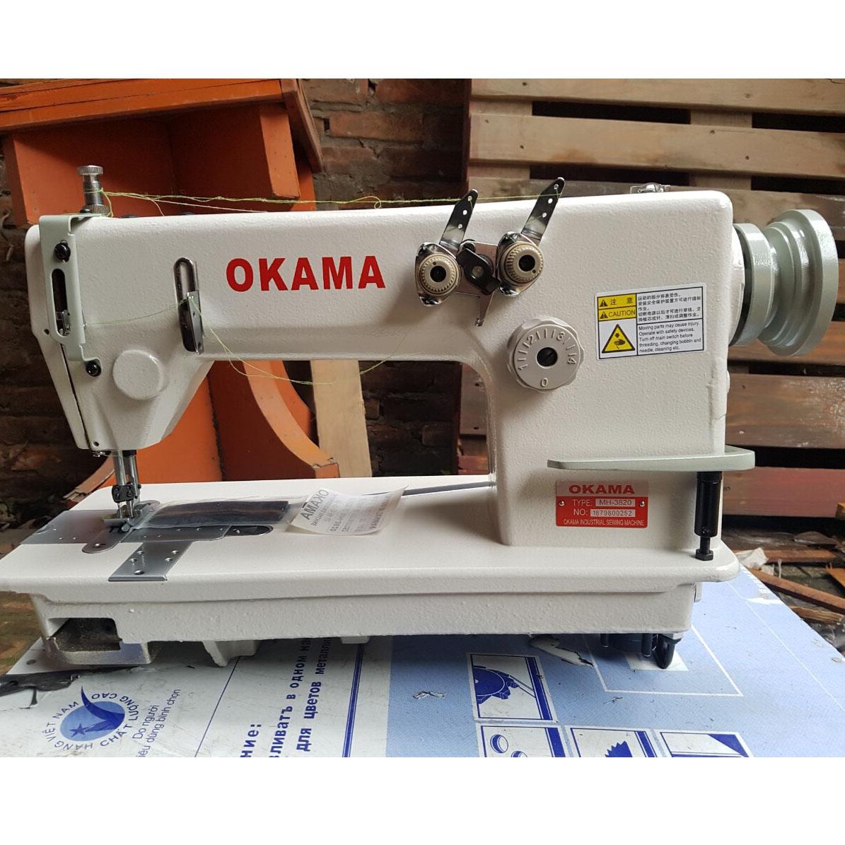 Máy 2 kim chỉ tết OKAMA 3820