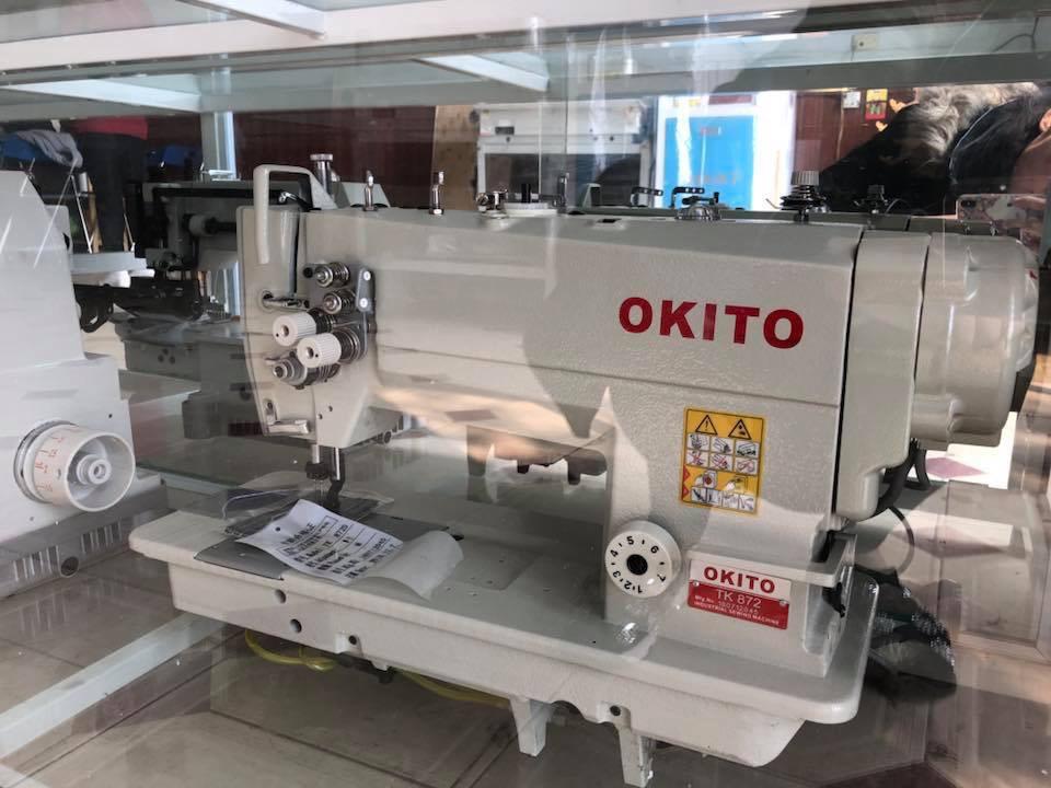 Máy 2 kim ổ to cơ Okito TK-872