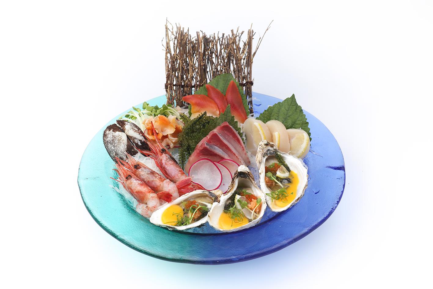 Sashimi Tổng Hợp (6 loại ĐẶC BIỆT)