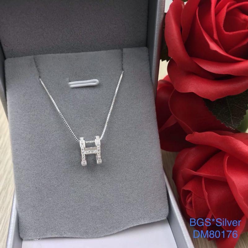 DM80176 Dây chuyền bạc nữ đẹp độc lạ HCM