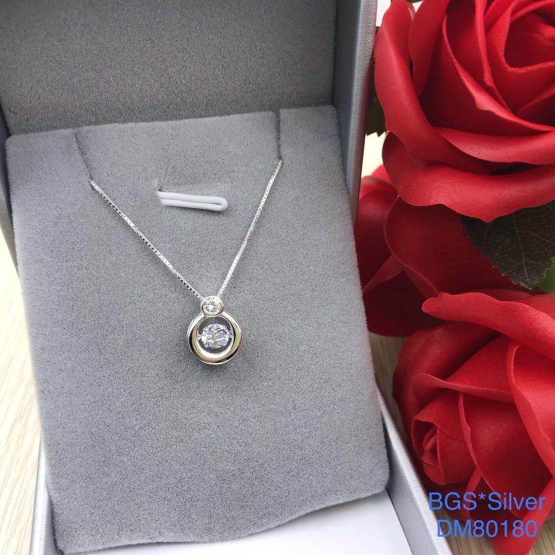 DM80180 Dây chuyền bạc nữ đẹp độc lạ HCM