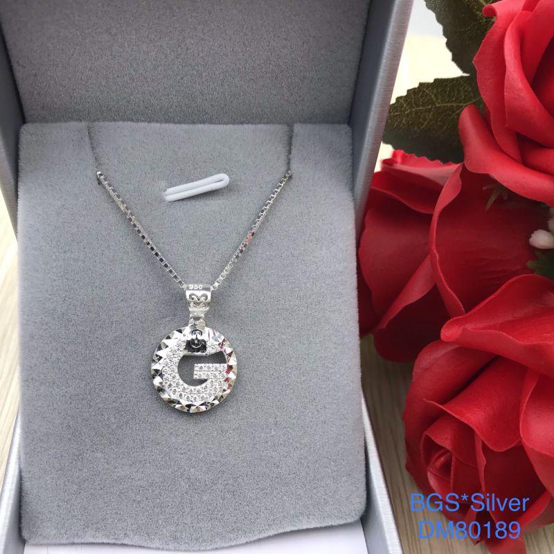 DM80189 Dây chuyền bạc nữ đẹp độc lạ HCM