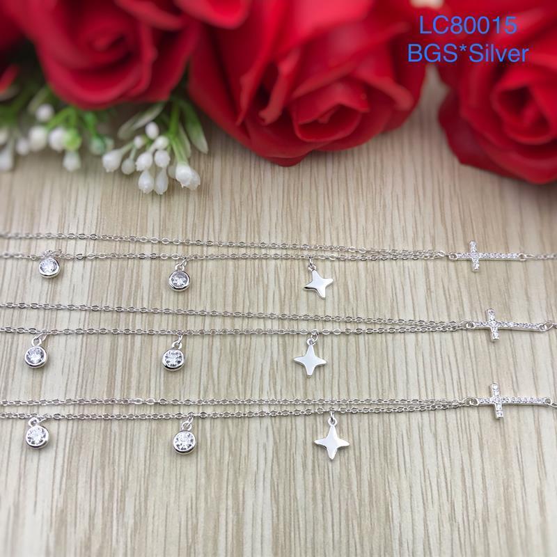 LC80015 Lắc chân bạc nữ đẹp xinh HCM