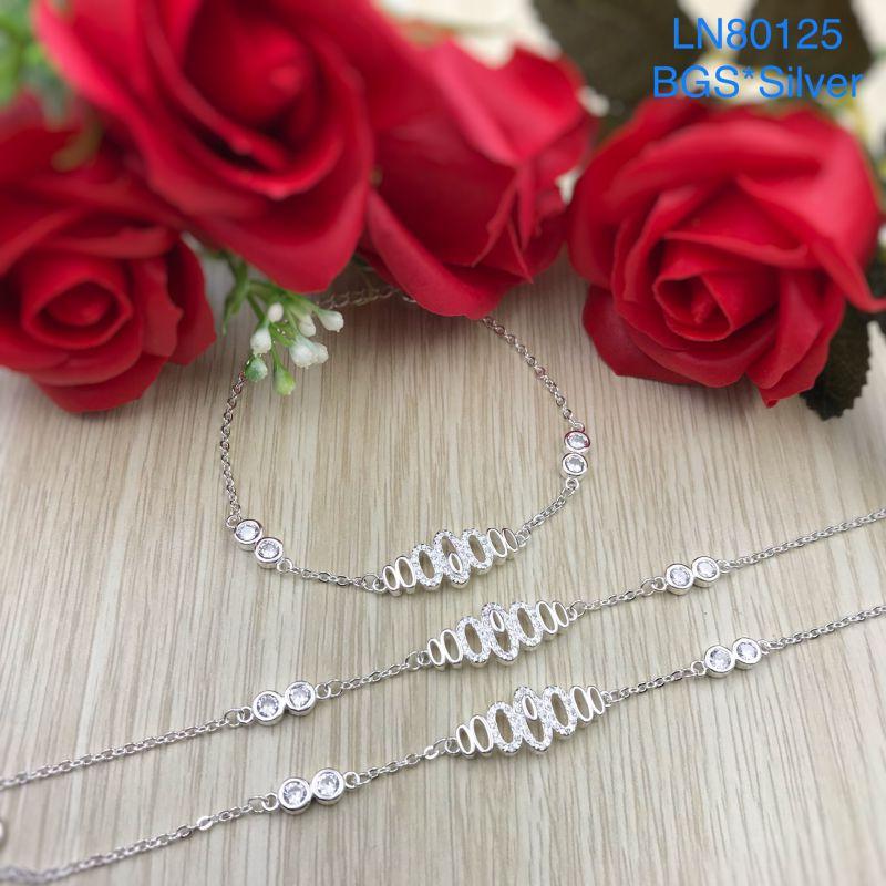 LN80125 Lắc tay bạc nữ đẹp độc lạ HCM