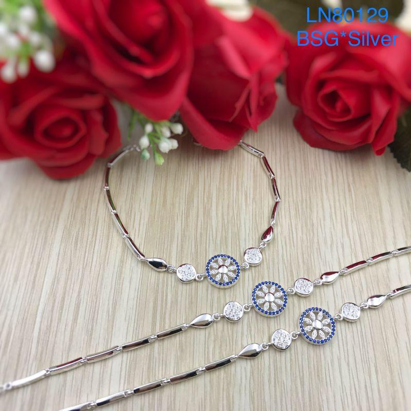 LN80129 Lắc tay bạc nữ đẹp độc lạ HCM