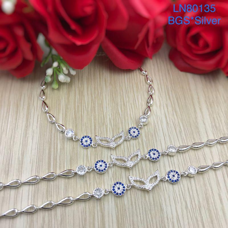 LN80135 Lắc tay bạc nữ đẹp độc lạ HCM
