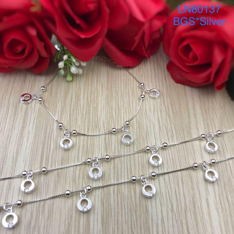 LN80137 Lắc tay bạc nữ đẹp độc lạ HCM