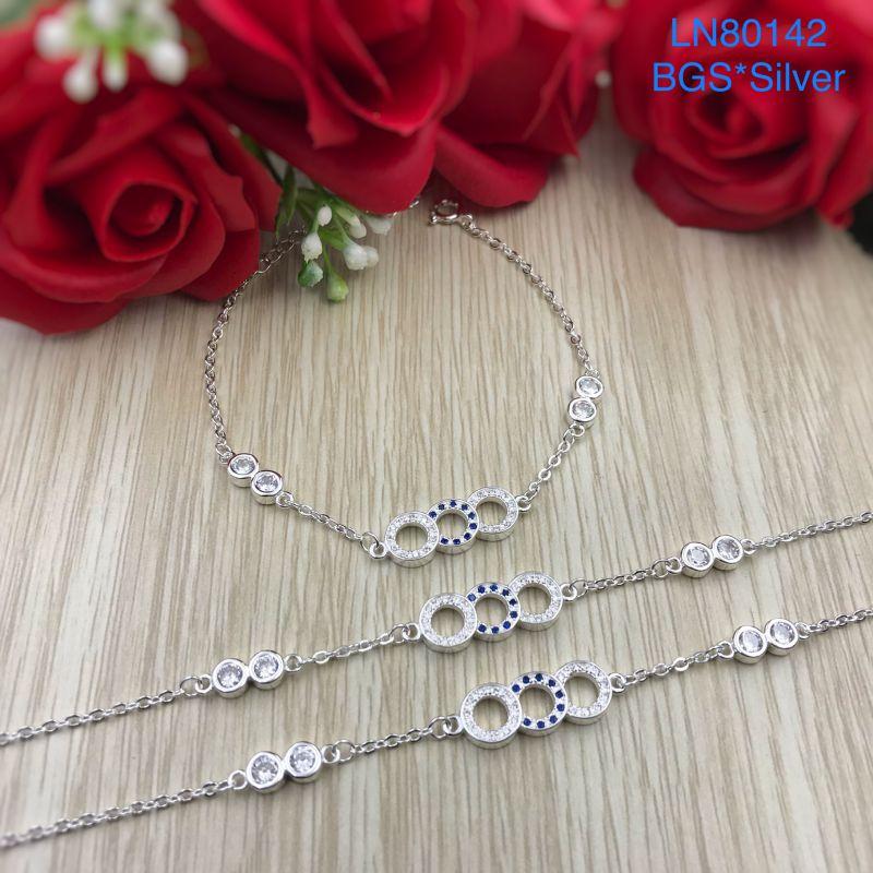 LN80142 Lắc tay bạc nữ đẹp độc lạ HCM