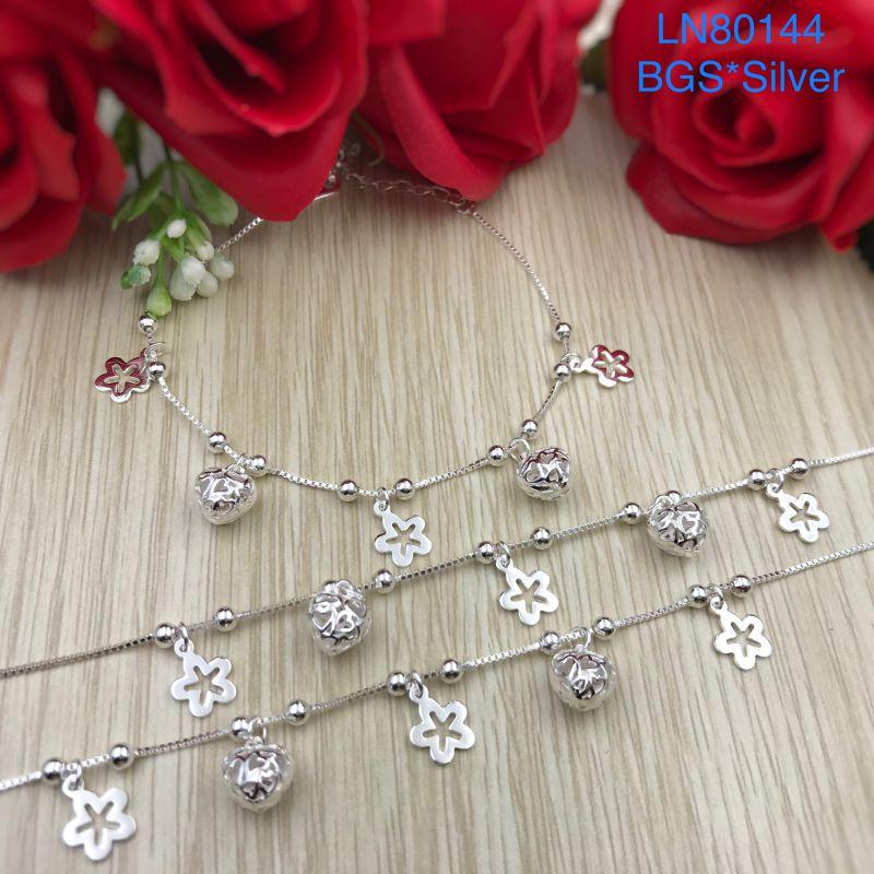 LN80144 Lắc tay bạc nữ mẫu Ý dễ thương đẹp độc lạ HCM
