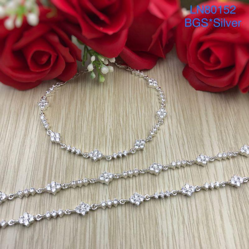 LN80152 Lắc tay bạc nữ mẫu Ý đẹp độc lạ HCM
