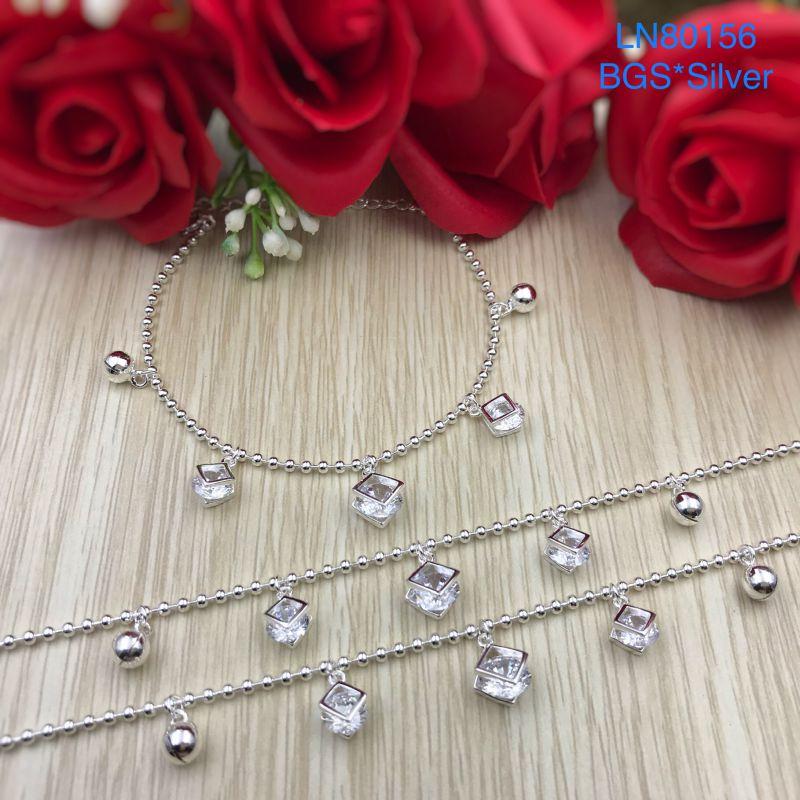 LN80156 Lắc tay bạc nữ mẫu Ý đẹp độc lạ HCM