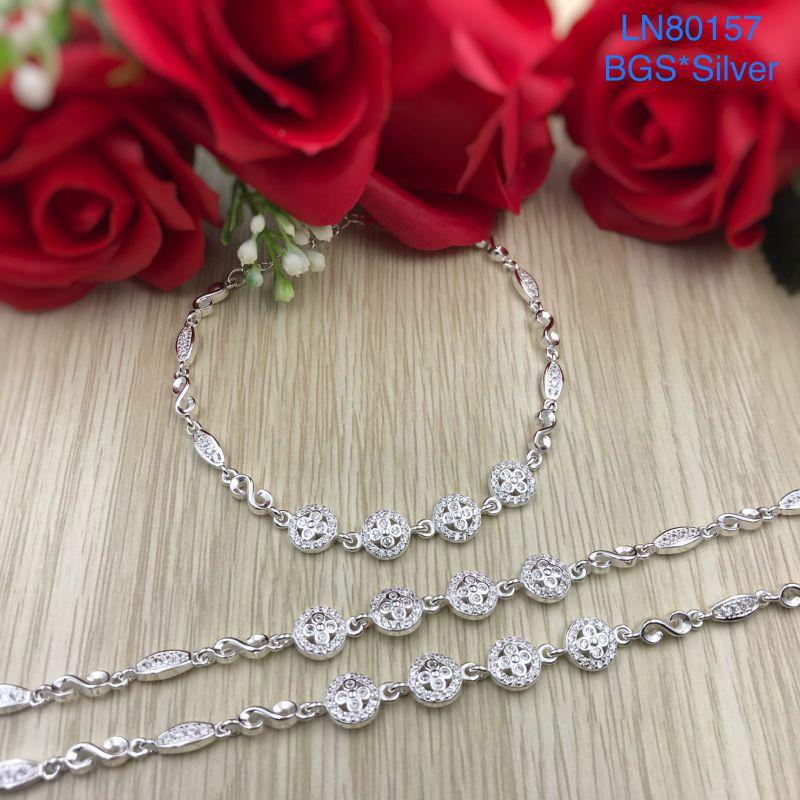 LN80157 Lắc tay bạc nữ đẹp độc lạ HCM