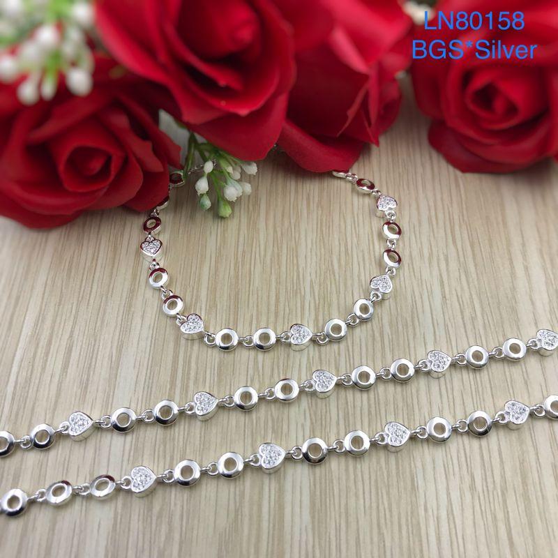 LN80158 Lắc tay bạc nữ dễ thương đẹp độc lạ HCM