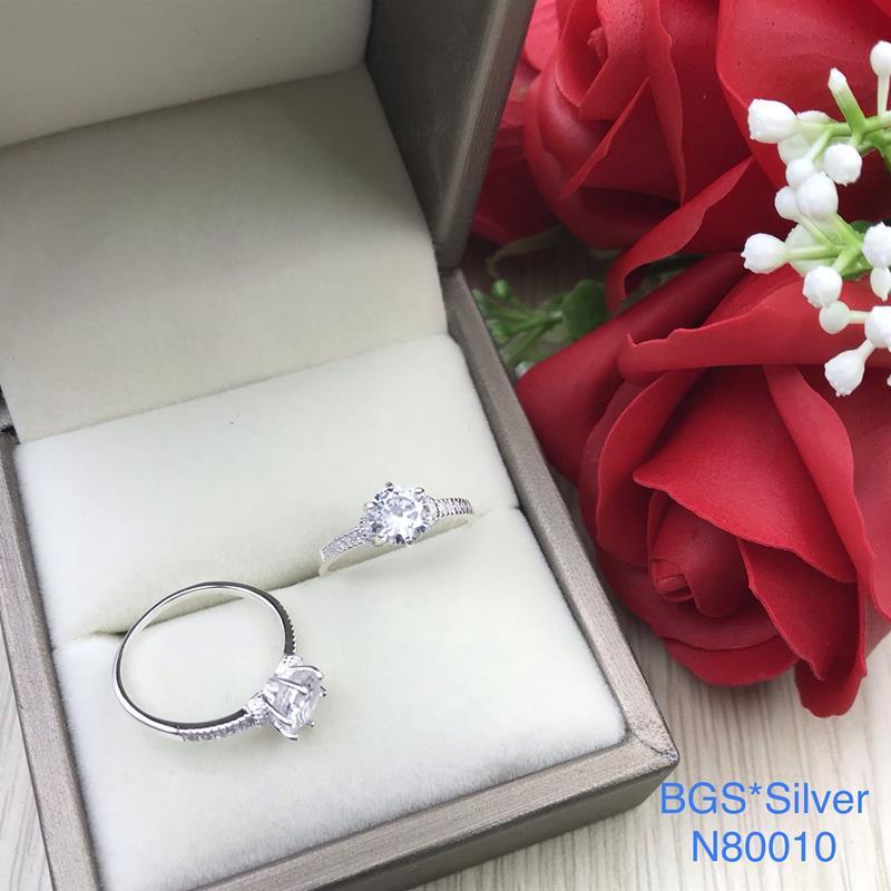 N80010 Nhẫn bạc nữ cao cấp đẹp độc lạ HCM