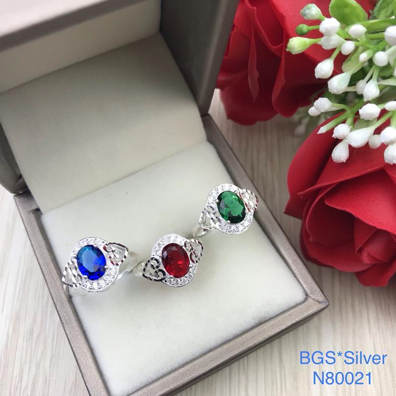 N80021 Nhẫn bạc nữ cao cấp đẹp độc lạ HCM