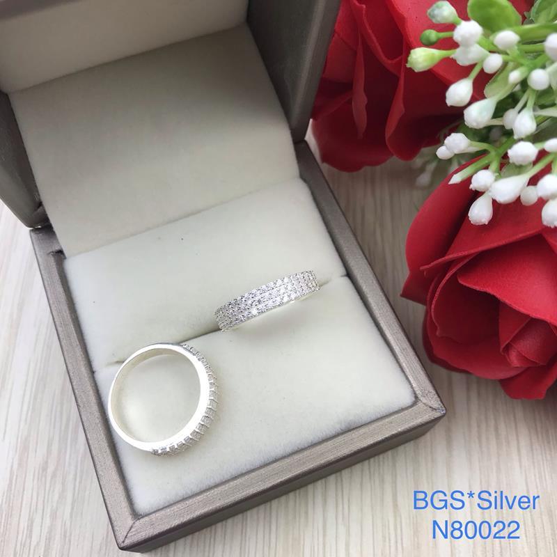 N80022 Nhẫn bạc nữ cao cấp đẹp độc lạ HCM