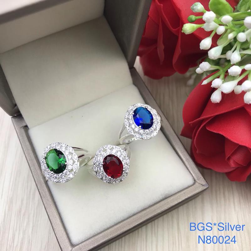 N80024 Nhẫn bạc nữ cao cấp đẹp độc lạ HCM